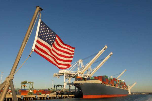 USA---Flag,-ship,-port---515528694