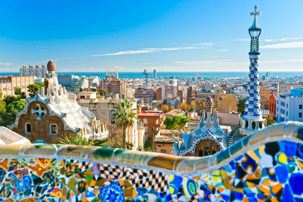 Spain---View-over-Barcelona---148543868