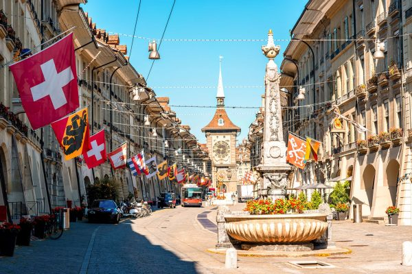 Switzerland---Street-in-Bern---613792524
